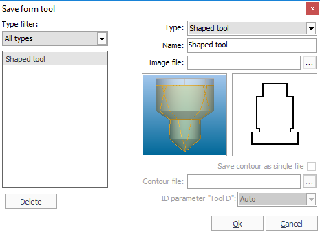 Creating shaped tools - SprutCAM 12 All lang User Manual